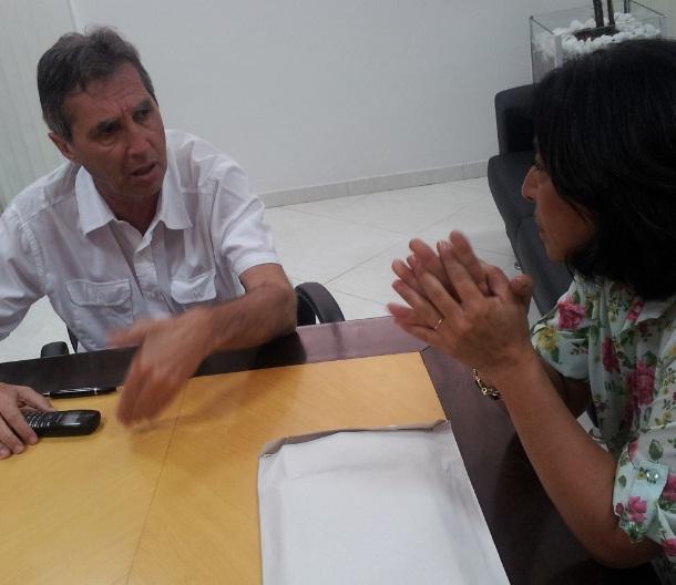 Sindivarejista se reúne com secretário de Transportes