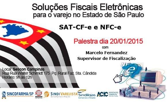 Entidades promovem palestra sobre Soluções Fiscais Eletrônicas com apoio do Sindi