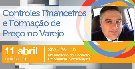 Palestra sobre 'Formação de Preço no Varejo' será dia 11