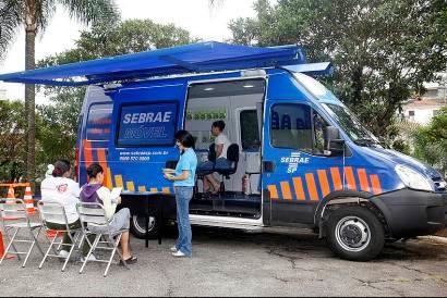 Sebrae Móvel terá atendimento no Parque das Bandeiras, em Campinas