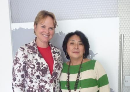 Sindivarejista recebe a visita da deputada estadual Ana Perugini