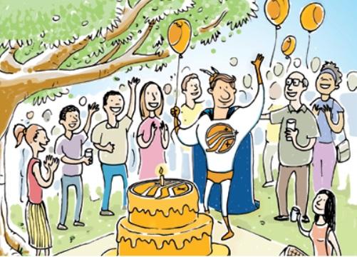 Parabéns comerciante pelo seu dia comemorado nesta semana
