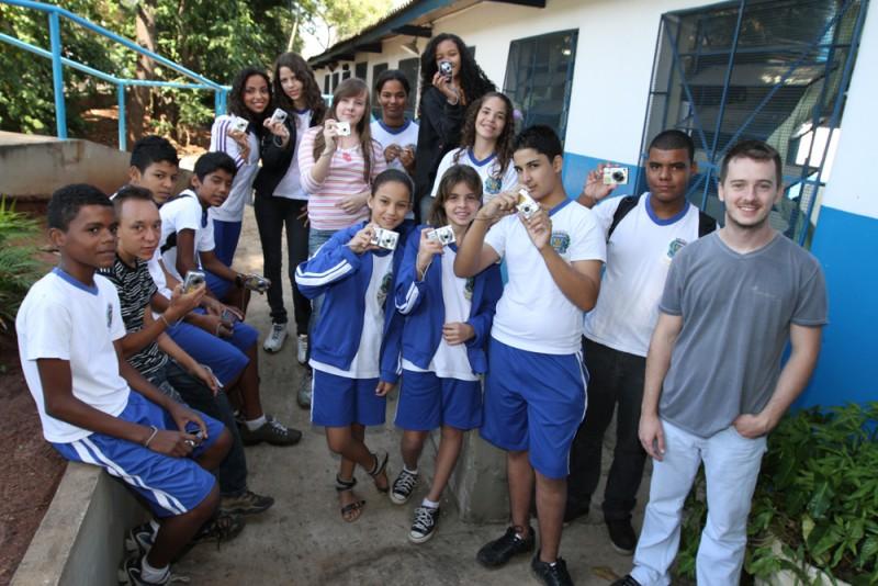 Conexão Social: alunos registram a paisagem do Ouro Verde