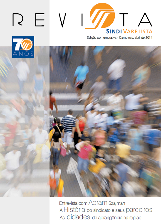 Revista Sindivarejista conta a história de 70 anos do sindicato