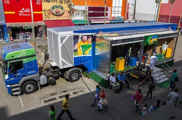 Copa 2014: Carreta Sebrae vai dar dicas de vendas no Centro de Campinas