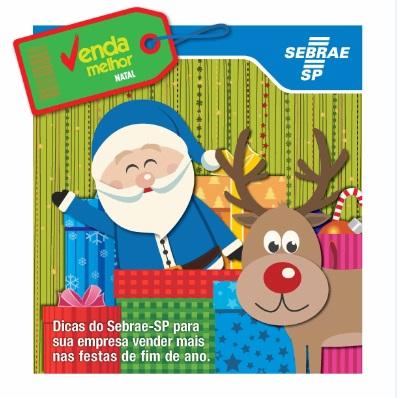 Sebrae lança cartilha para comércio aumentar as vendas no Natal