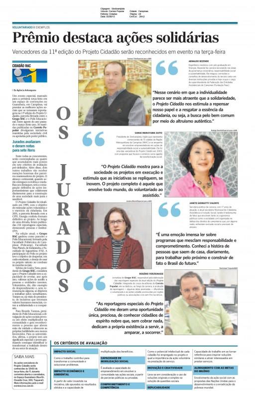 Presidente do Sindivarejista é jurada no Projeto Cidadão RAC