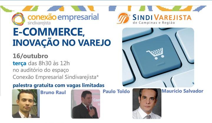 E-commerce: Conexão Empresarial faz palestra nesta 3ª- feira
