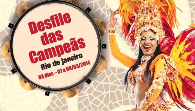Santorini lança pacote para representados assistirem ao desfile das Escolas Campeãs