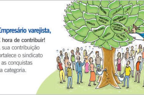 Sindivarejista lança campanha sobre a contribuição sindical