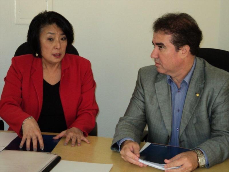 Sindivarejista recebe o deputado federal Jonas Donizette