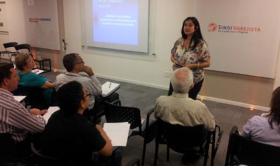 Recrutamento foi tema de 1º encontro de ciclo de palestras