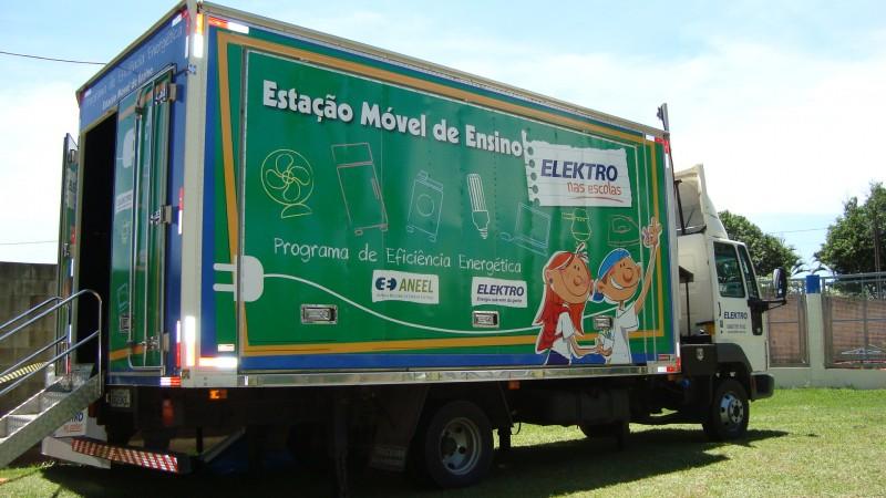 Elektro leva estação móvel de ensino a Artur Nogueira