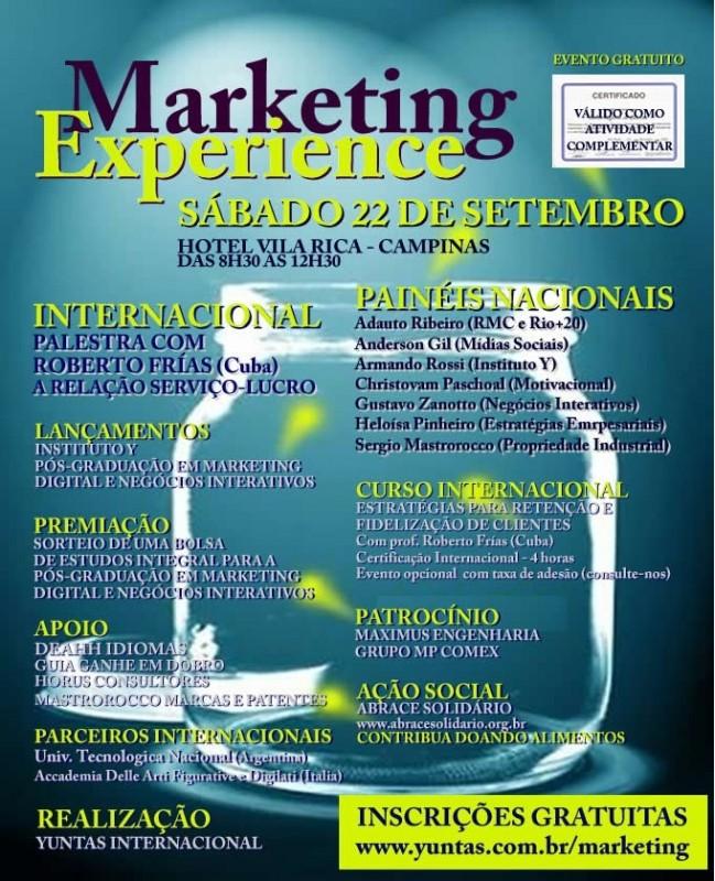 Evento promove palestra sobre a relação entre serviço e lucro