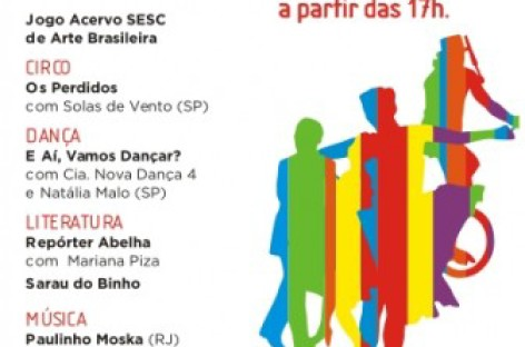 Campinas recebe no próximo sábado o Circuito SESC de Artes
