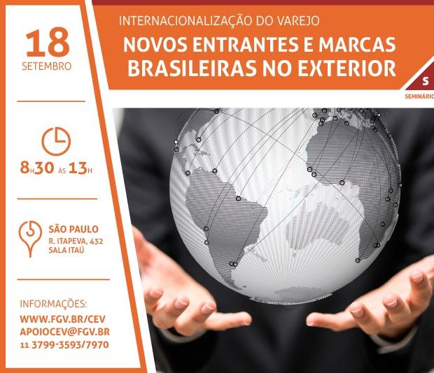 GVCev faz seminário: A Internacionalização do Varejo