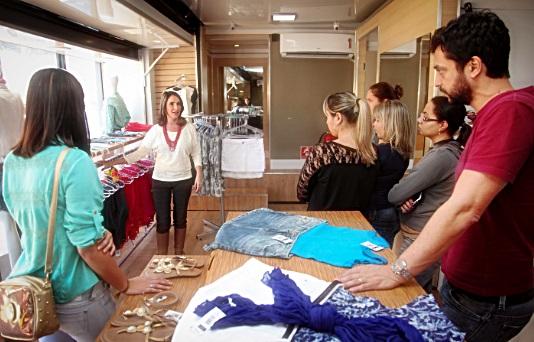 Loja Modelo Itinerante do Sebrae dá dicas de como melhorar as vendas