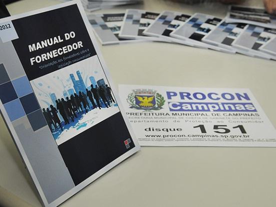 Procon Campinas lança Manual do Fornecedor