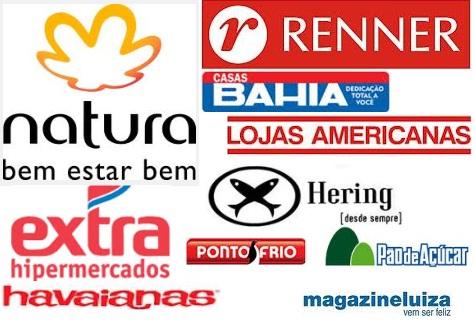 Conheça as marcas mais valiosas do varejo brasileiro em 2013