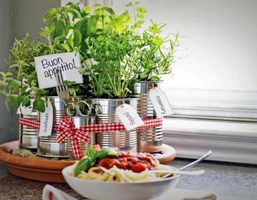 Novo post do Blog do Julio ensina a montar uma mini-horta com latinhas de alumínio