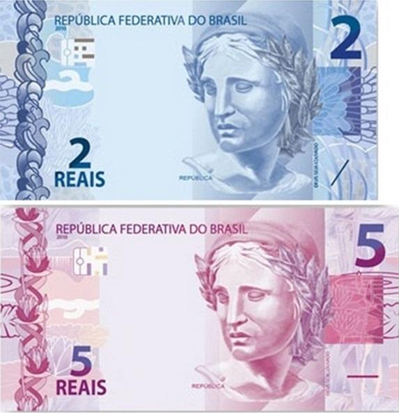 Fique atento comerciante varejista: As novas cédulas de R$ 2 e R$ 5 começam a circular