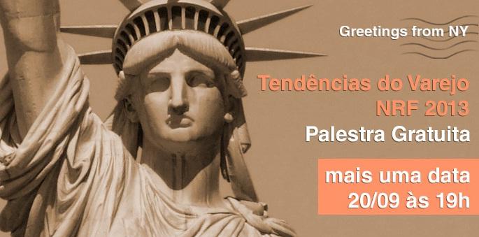 Fundação Getúlio Vargas faz palestra hoje às 19h sobre tendências do varejo