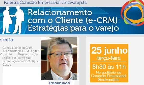 Palestra de CRM Digital ocorreu com transmissão online