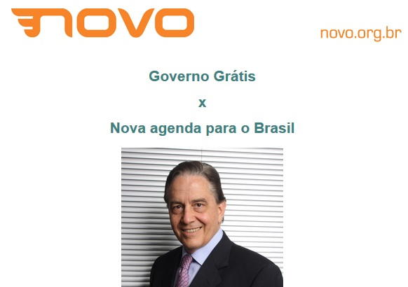 Fecomercio sedia palestra 'Governo Grátis x Nova agenda para o Brasil' dia 28, em SP