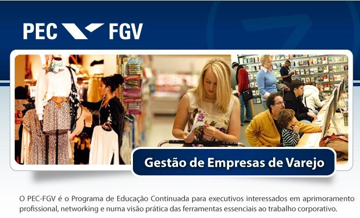 PEC-FGV lança curso em São Paulo voltado para o varejo