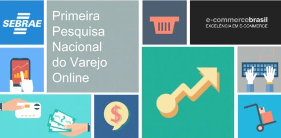 Sebrae divulga resultados da 1ª Pesquisa Nacional sobre o E-commerce
