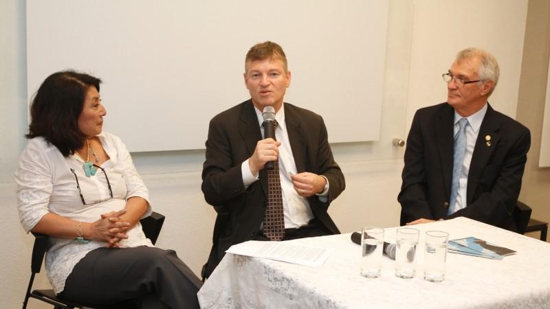 Sindivarejista recebe o presidente do TRT para reunião com líderes