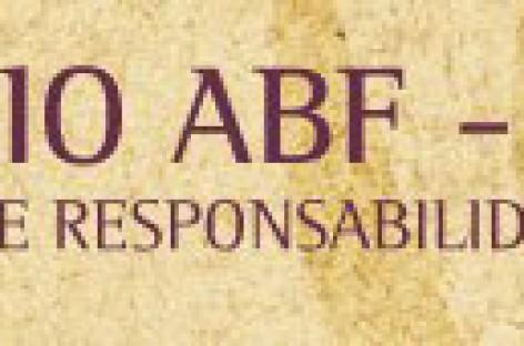 Abertas as inscrições para a 5ª edição do Prêmio ABF – AFRAS 2011