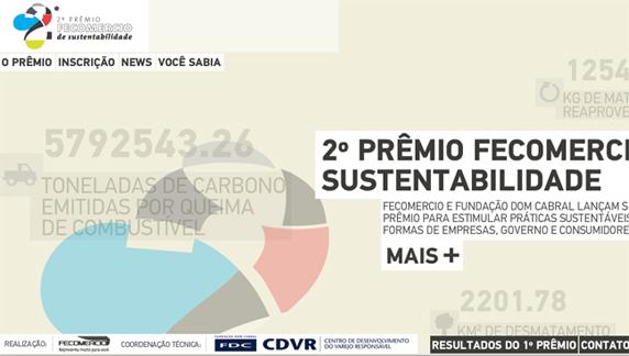 Inscrições abertas para o Prêmio Fecomércio de Sustentabilidade