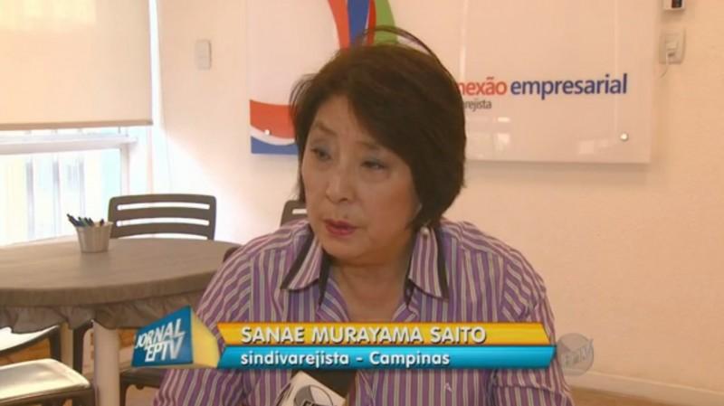 Presidente do SindiVarejista comenta queda das vendas em reportagem da EPTV