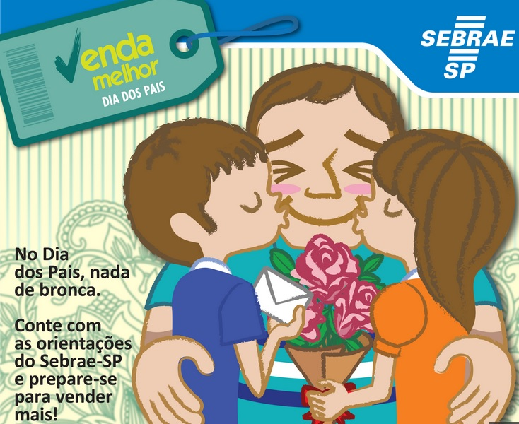Sebrae lança cartilha para melhorar vendas no Dia dos Pais