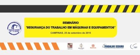 TRT 15 promove seminário sobre segurança do trabalho em parceria com a Roperbras