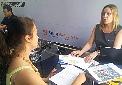 Atendimento do Sindivarejista no Largo do Rosário fica até sexta, dia 17