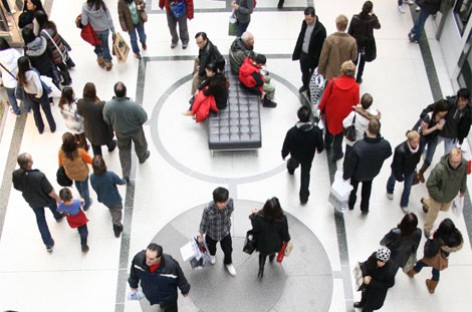Vendas nos shopping centers cresceram 20% no mês de fevereiro