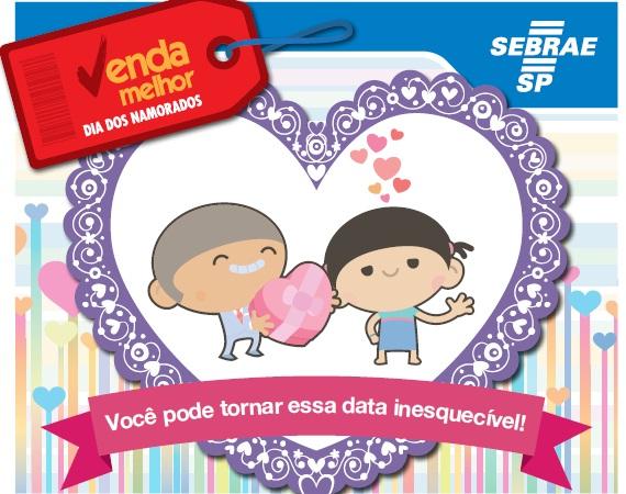Sebrae lança cartilha para melhorar vendas do Dia dos Namorados