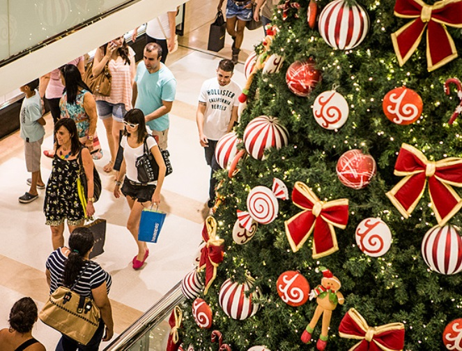 Vendas devem crescer 3% no Natal deste ano, segundo levantamento da CNDL