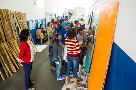 Confira o documentário que mostra os bastidores da oficina de grafite