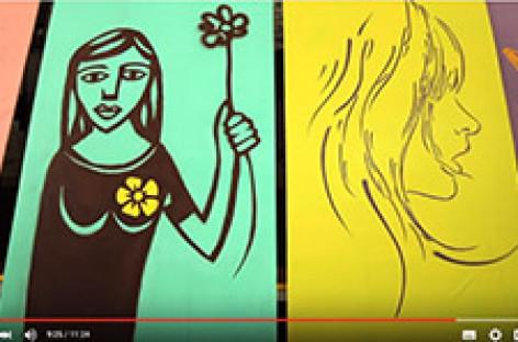 """Oficina de Grafite """"O Trabalho é uma Arte"""""""