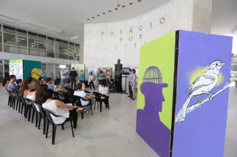 Exposição de grafite abre eventos do Dia da Pessoa com Deficiência