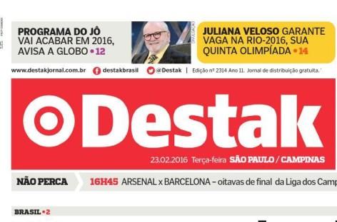 Jornal Destak publica matéria sobre desemprego no comércio