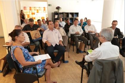 Reunião da Coordenadoria Sindical Leste em Campinas
