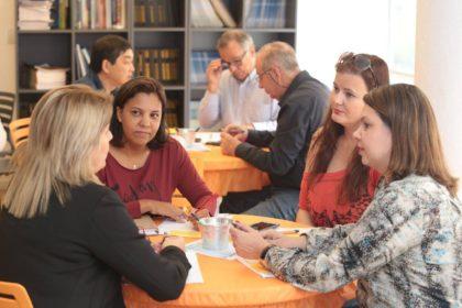 Participantes interagem durante terceiro encontro de Gestão de RH/Adriano Rosa
