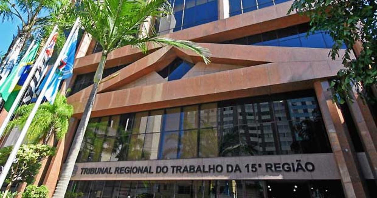 TRT vai fazer mutirão de conciliação em setembro