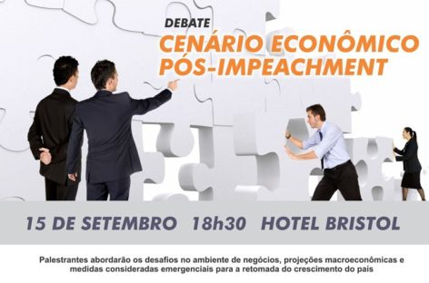 Debate gratuito aborda cenário econômico pós-impeachment