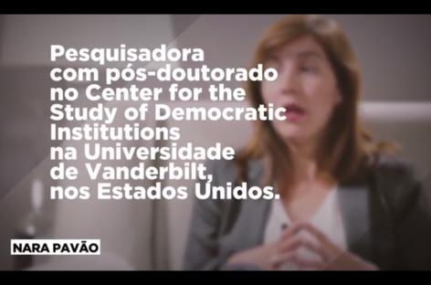 Nara Pavão: relação entre democracia e corrupção