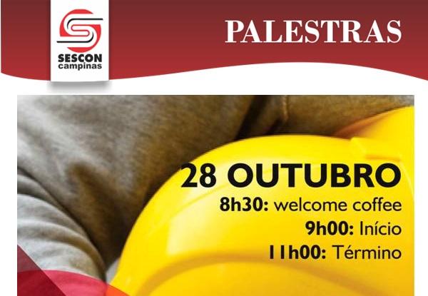 Sescon promove palestra sobre Segurança e Medicina do Trabalho